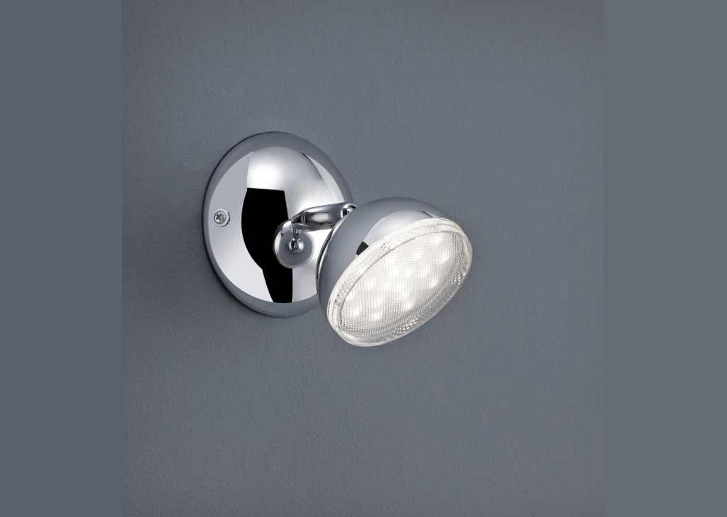 TRIO Spot / wandlamp | 1 x 3,6 Watt | 100 mm | LED Serie 8728 | Chroom