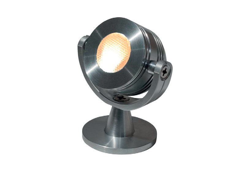 Tronix | LED opbouwspot | 1 LED | Mars | 3 W | 700 mA | Warm Wit | Alu