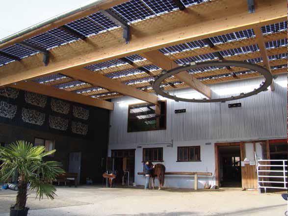 Zonnepaneel overkapping LED Verlichting en energie zuinige ...