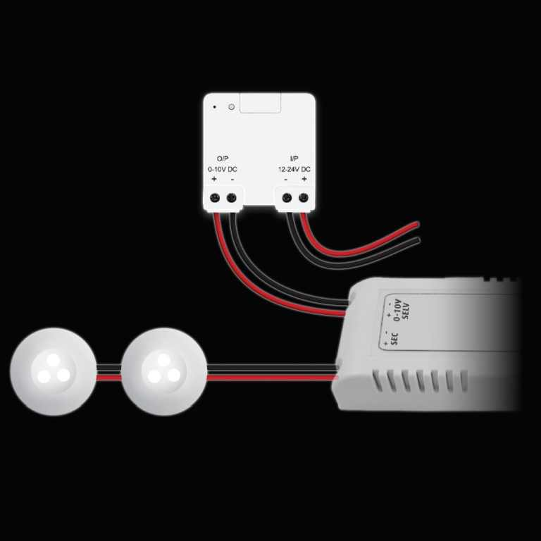KlikAanKlikUit | Mini LED 0-10 Volt Inbouw Dimmer | ACM-LV10