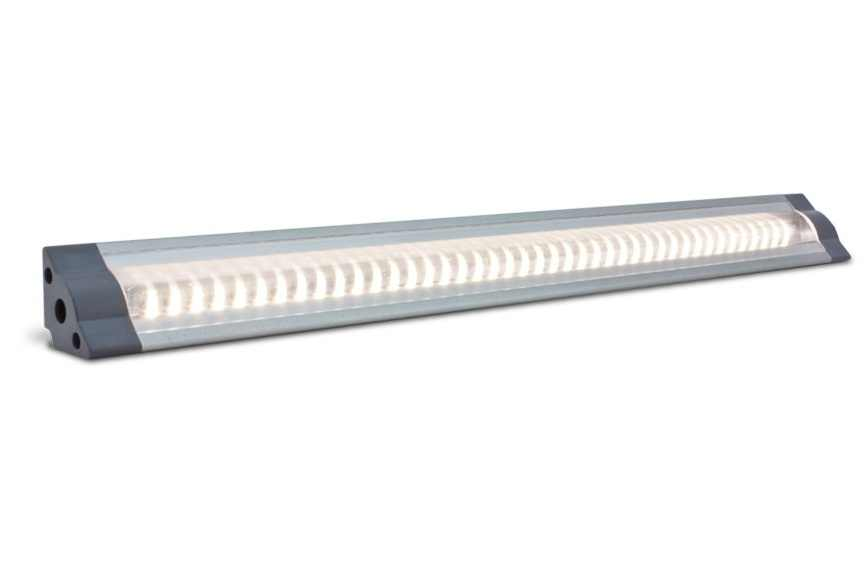 LED Strip | Plat | Type Corner LO | 100 Cm | Warm Wit | 11 Watt | 24 Volt