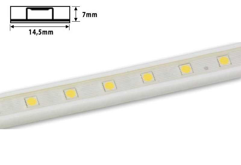 Flexibele LED strip | 24 Volt | 14,4 Watt Per meter | Daglicht Wit | Cove Flex
