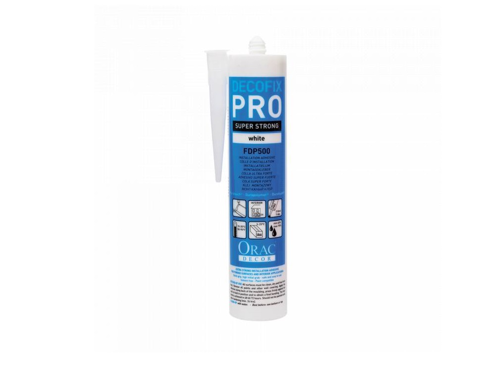 StucProfiel | Lijm | FDP500 DecoFix Pro 310 ml - Orac