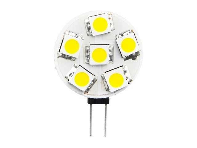LED steeklampje | 12 Volt | 1,2 W | VV 10-15 W | Warm Wit | G4 | 110 Lumen