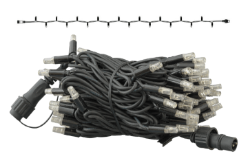 PS230 | String | 10m | Black Wire | 3000K WW
